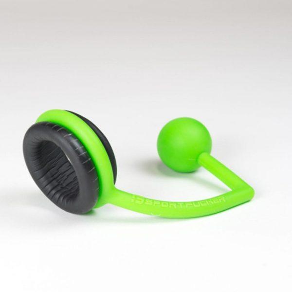 Asslock - Jock Lock Asslock groen met neoprene penisring
