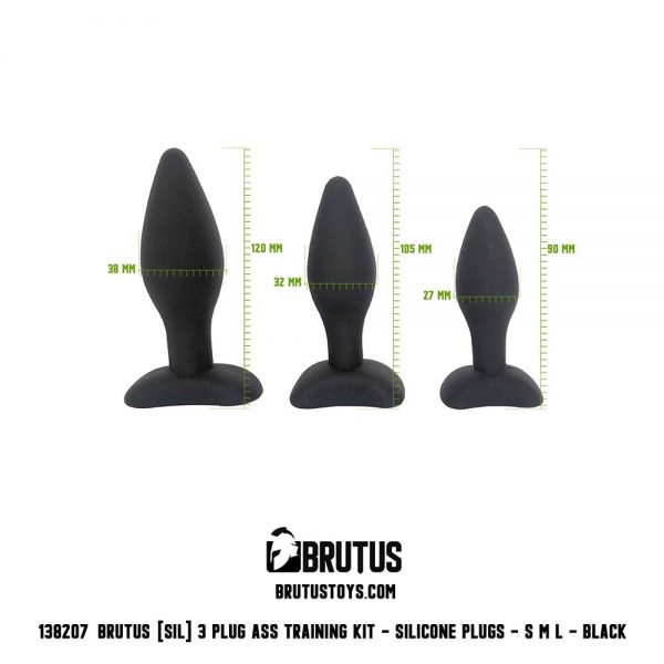 Buttplug voor beginners - buttplug training kit trio 6