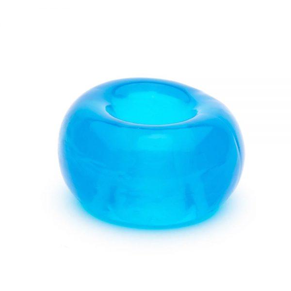 Penisring - skater boyz TPR penisring doorzichtig blauw