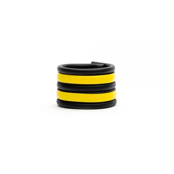 Ballstretcher - Racer Ball Strap neoprene ballstretcher geel