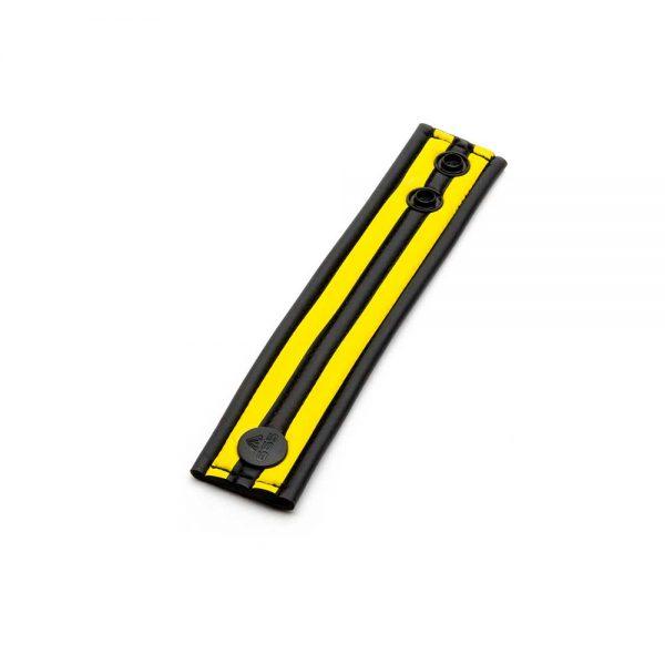 Ballstretcher - Racer Ball Strap neoprene ballstretcher geel los