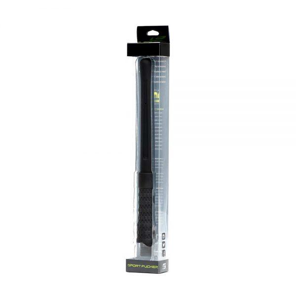 Klysma - Power shot siliconen anale sproeier verpakking zwart