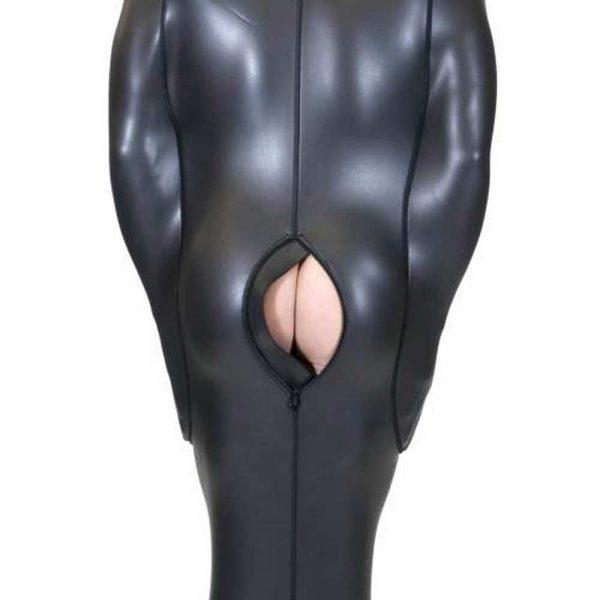 Neoprene Bodybag met interne mouwen achterkant open