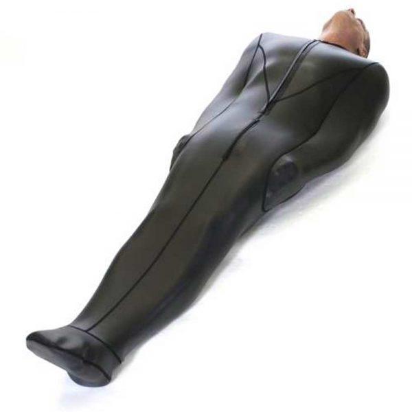Neoprene Bodybag met interne mouwen liggend