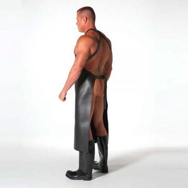 Neoprene Schort zijkant en achterkant