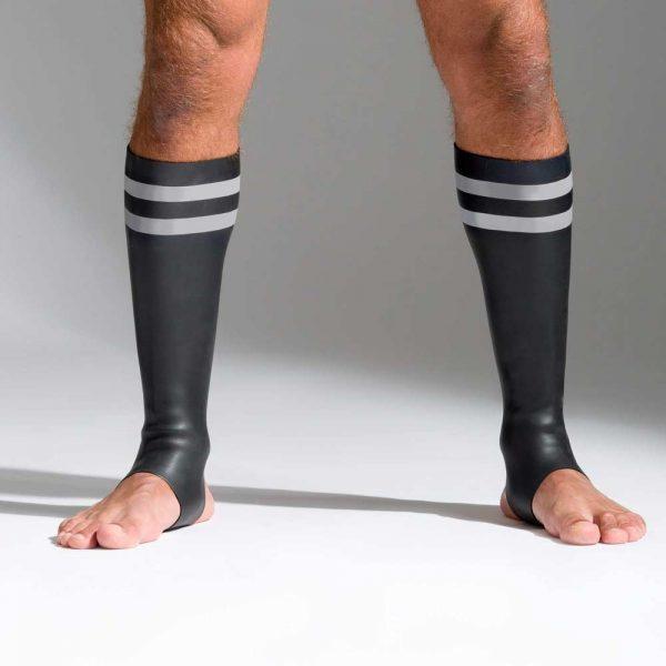 Neoprene sokken met kleurcode grijs voorkant