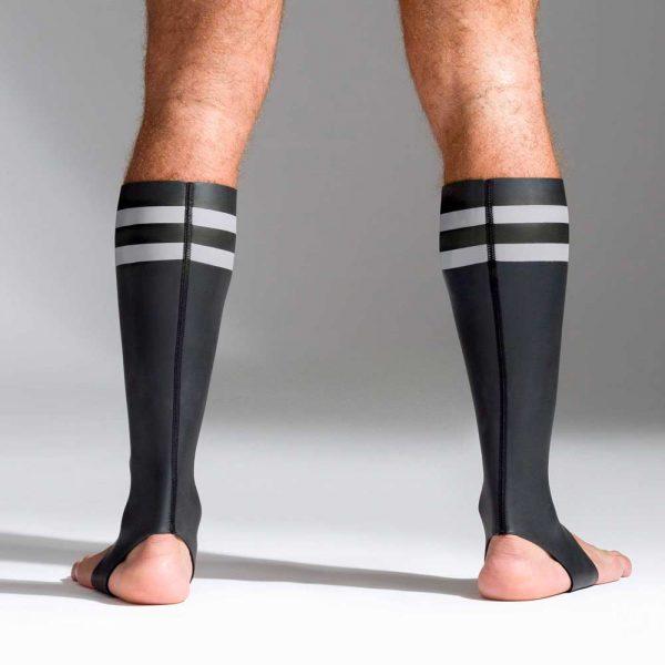 Neoprene sokken met kleurcodegrijs achterkant