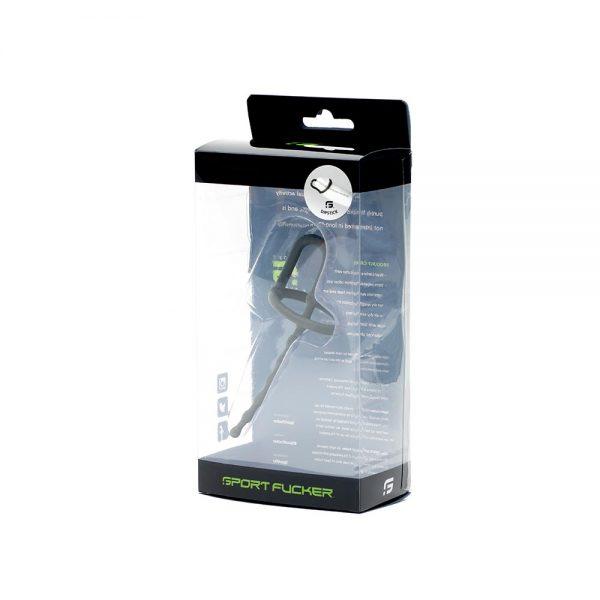Penisplug - Dipstick siliconen penisplug verpakking grijs