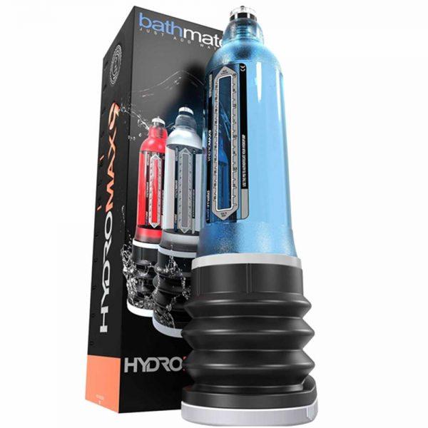 Penispomp - Bathmate Hydromax9 _ X40 penispomp verpakking blauw 2