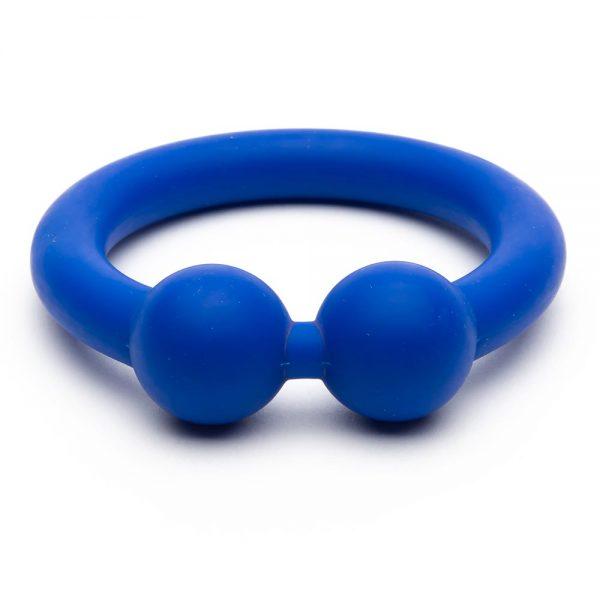 Penisring - Bullring siliconen penisring blauw