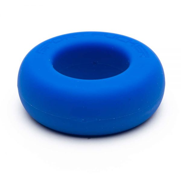 Penisring - Muscle Ring siliconen penisring blauw