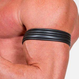 neoprene armband zwart