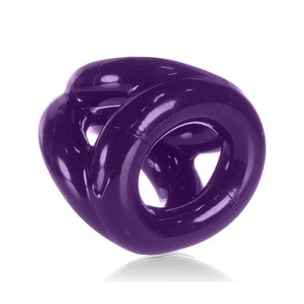 Penisring - De Tri-Sport penisring achterkant paars