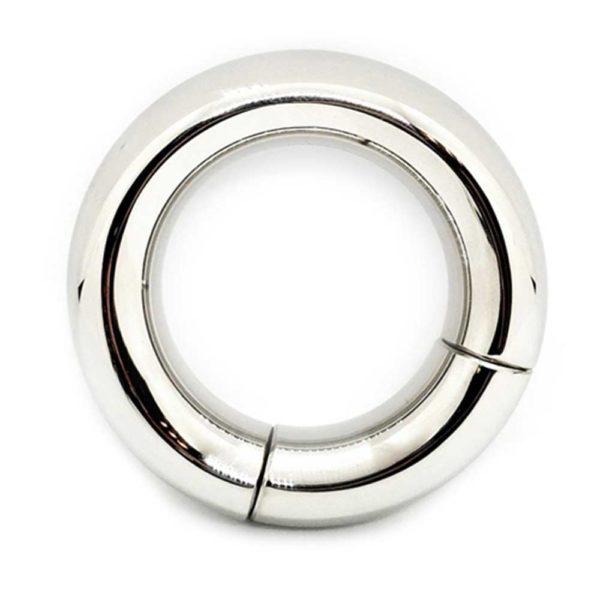 Penisring - Magnetische donut penisring zicht van boven