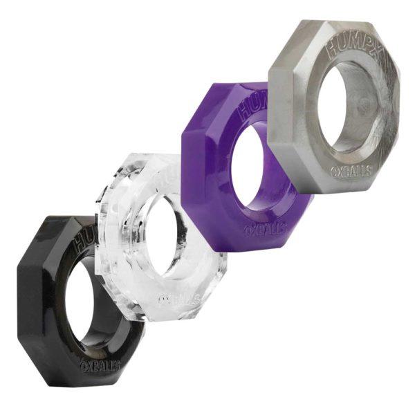 Penisring - Oxballs HumpX TPR penisring alle ringen