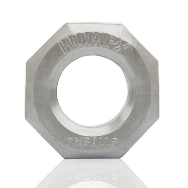 Penisring - Oxballs HumpX TPR penisring voorkant grijs