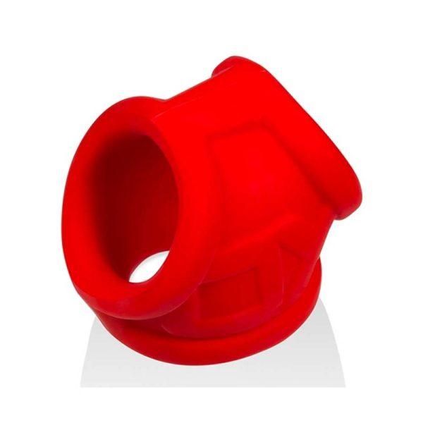 Penisring - Oxsling Cocksling penisring bovenkant rood