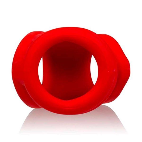 Penisring - Oxsling Cocksling penisring liggend rood