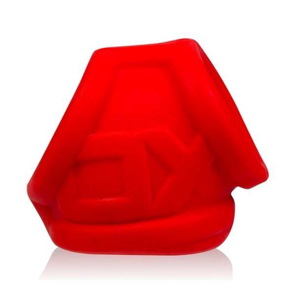 Penisring - Oxsling Cocksling penisring zijkant rood